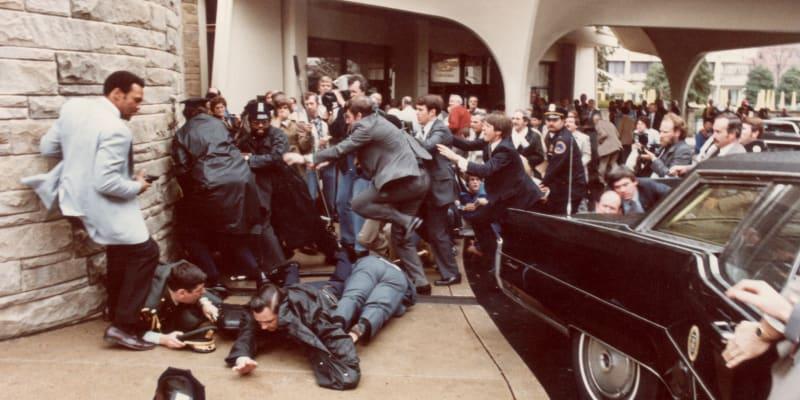 Ronald Reagan atentát Hilton
