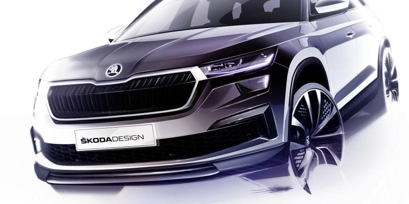 Škoda Kodiaq po faceliftu