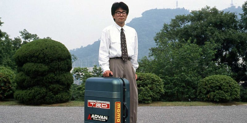 Auto v kufru Mazda