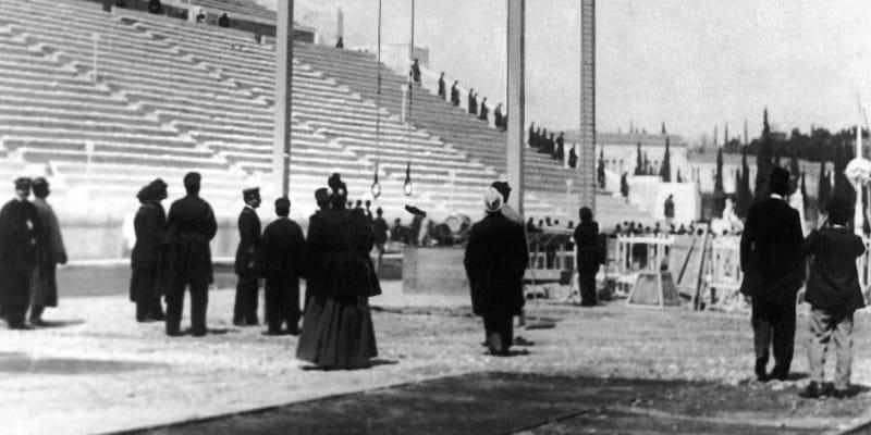 Dobové záběry z prvních novodobých olympijských her v řeckých Athénách