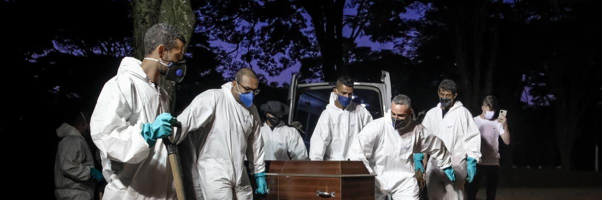 Továrna na nové mutace koronaviru: Brazílie je hrozbou pro celý svět, varují vědci