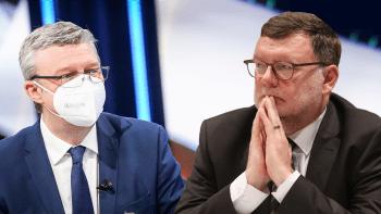 Sledujte Partii: Arenbergera i Sputnik V proberou Karel Havlíček se Zbyňkem Stanjurou