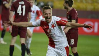 Slavia porazila v derby Spartu a výrazně se přiblížila obhajobě titulu