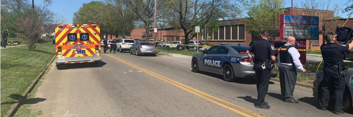Střelba na střední škole v USA. Zemřelo několik lidí včetně policejního důstojníka