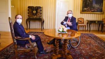 Sledujte ŽIVĚ jmenování nového ministra zahraničí. Opozici je ale Kulhánek trnem v oku
