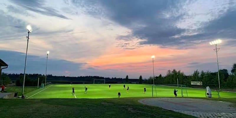 Areál Football Talent Academy v obci Doubek u Říčan.