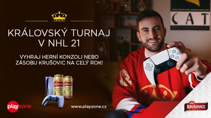 Královský turnaj v NHL 21 nabízí roční zásobu piva i soutěž o PlayStation 5