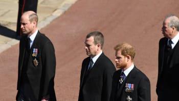 Usmíření Williama a Harryho? Po konci pohřbu prince Philipa si spolu promluvili