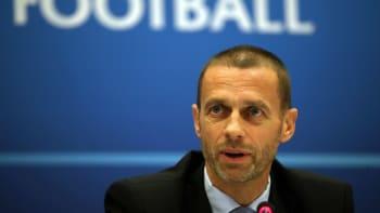 Šéf UEFA: Hráči, kteří se zapojí do Superligy, nebudou moct hrát na MS ani ME