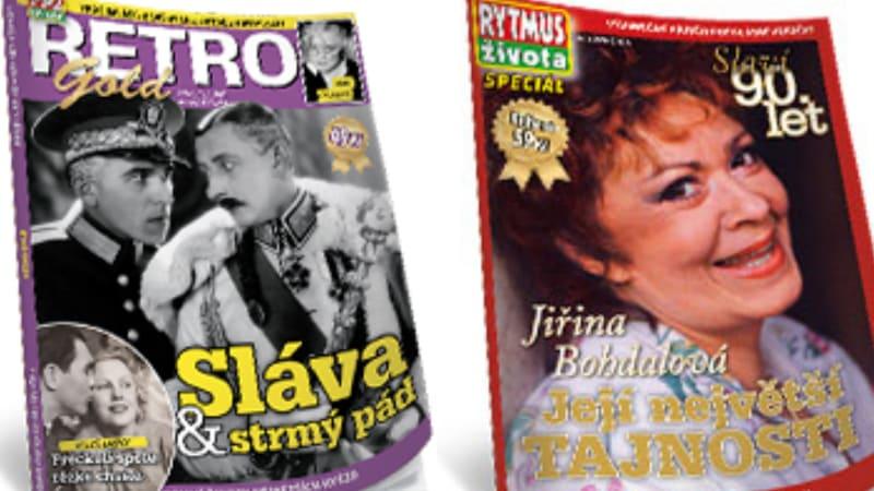 Soutěžte se Showtimem o knihy Retro Gold a o Jiřině Bohdalové.