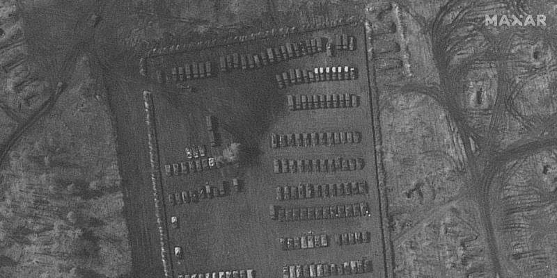 Základna se na jihozápadě Ruska objevila koncem března.