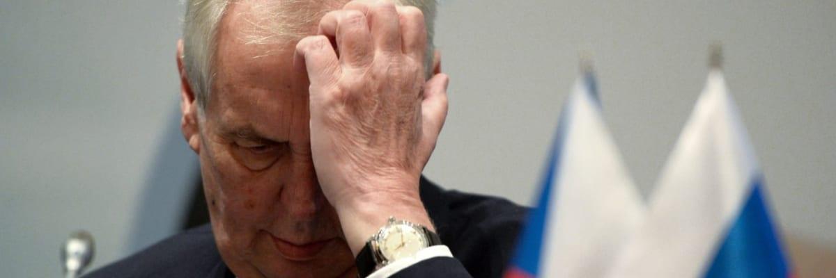 Ať se Česko připraví na tvrdé sankce. Zeman si musí vybrat stranu, varuje ruský expert