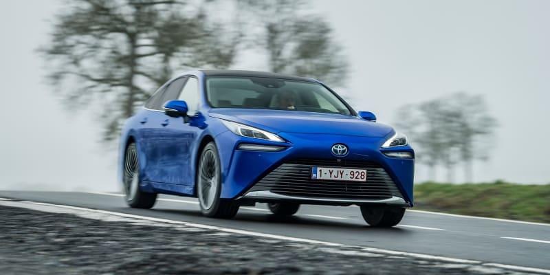 Toyota Mirai – první vodíkové auto na českém trhu