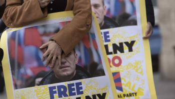 Putin je zloděj, demonstrují Rusové. Policie zatkla stovky podporovatelů Navalného