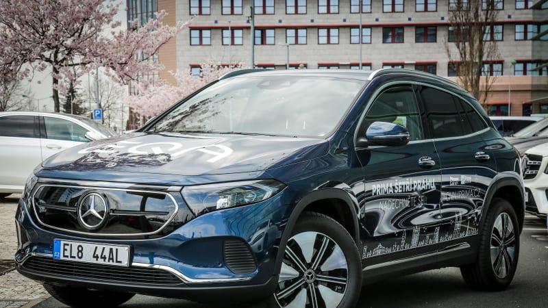 Soutěžte se Showtimem a Mercedes-Benz o víkendové zapůjčení elektromobilu Mercedes EQA 250