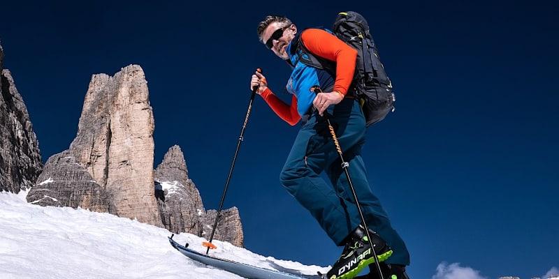 Jiří Langmajer objevil v Dolomitech kouzlo skialpových lyží.