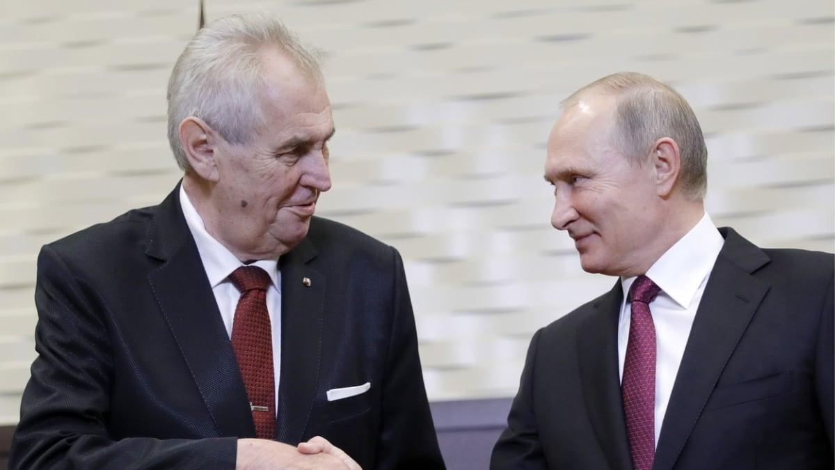 """Proč """"proruský"""" Zeman nezažehnal konflikt, diví se v Moskvě a píší o ztrátě spojence"""