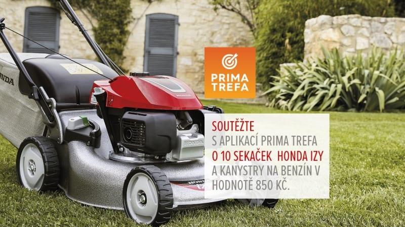 Prima Trefa: Hrajte o motorovou sekačku s pojezdem HRG 466 SK