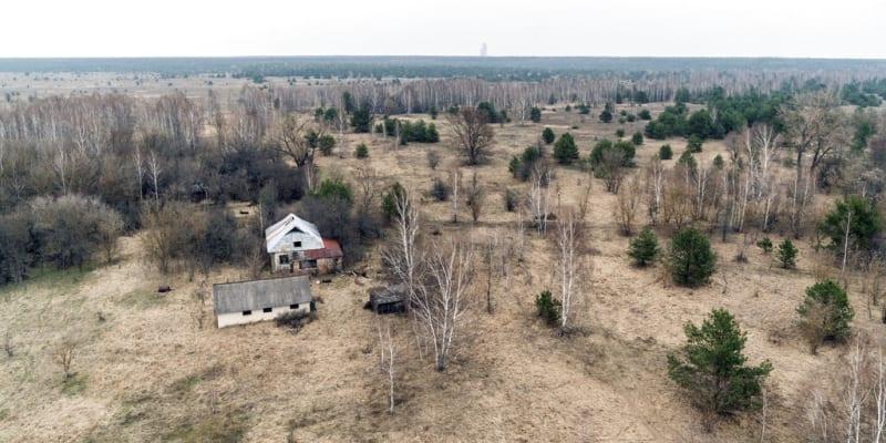 Opuštěná obydlí v černobylské zóně