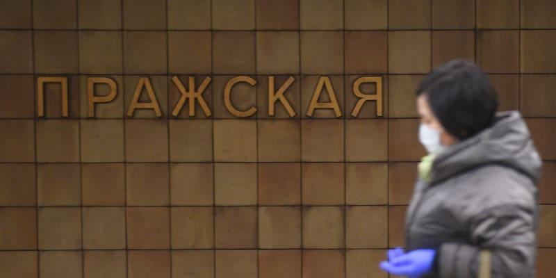 Stanice metra Pražská v Moskvě by mohla změnit jméno.
