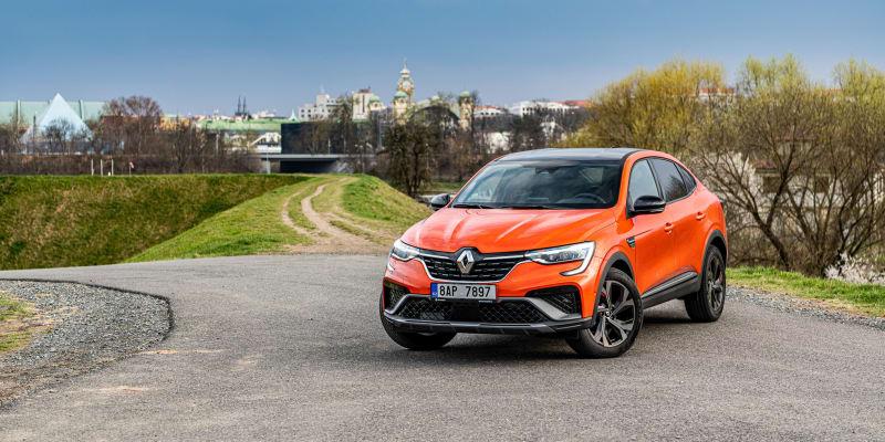 Renault Arkana na českých silnicích