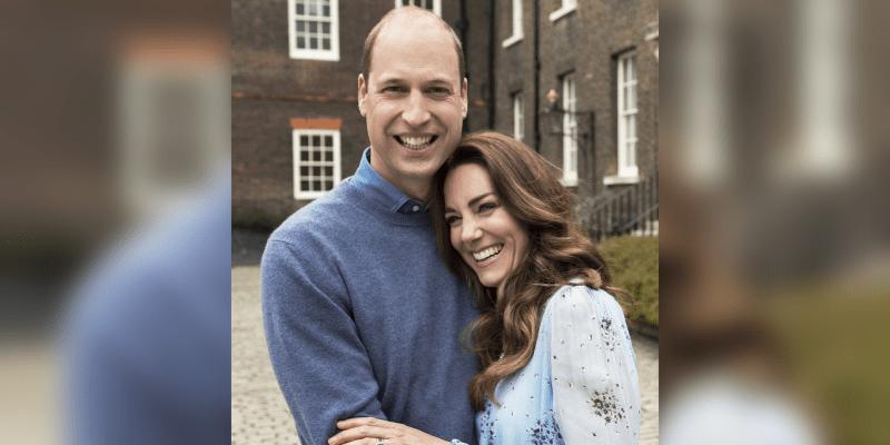 William a Kate na výročí svatby