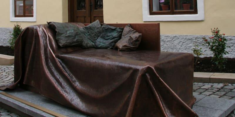 V Příboře je také pomník Sigmunda Freuda.