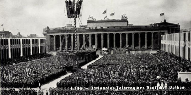 1. máj podle německých nacistů