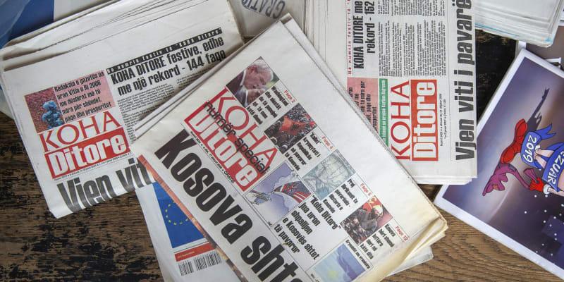 V Kosovu zanikly kvůli pandemii všechny tištěné noviny.