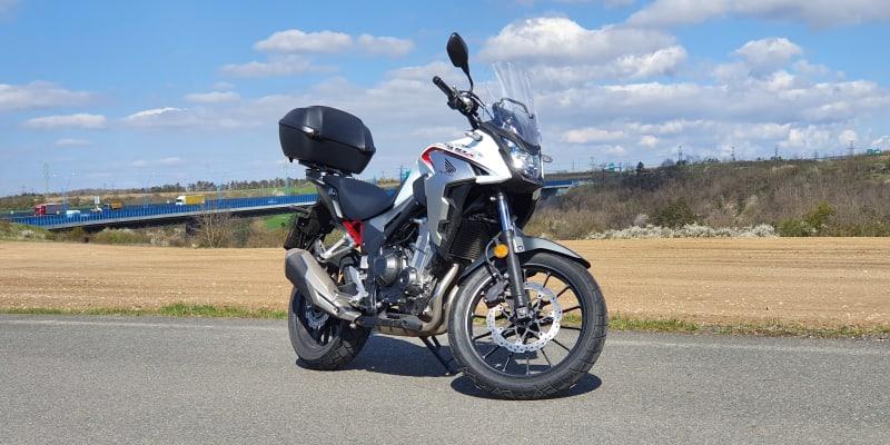 Honda CB500X v redakčním testu.
