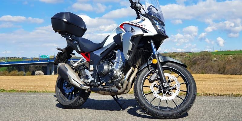 Honda CB500X v redakčním testu