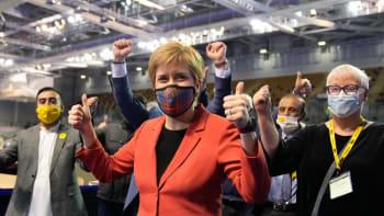 Skotské volby nejspíš ovládne premiérka. V klání jde hlavně o nezávislost na Londýnu