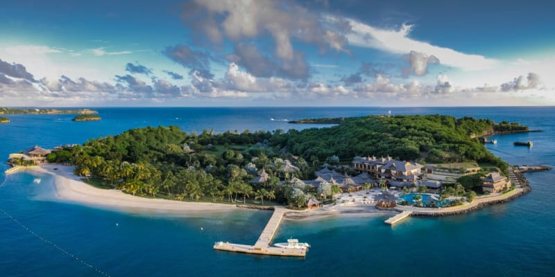 Ostrov Calivigny se nachází v Karibiku.