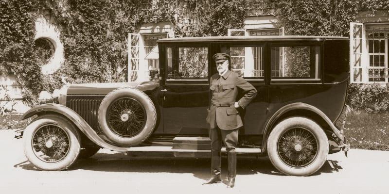Škoda Hispano-Suiza a prezident Masaryk