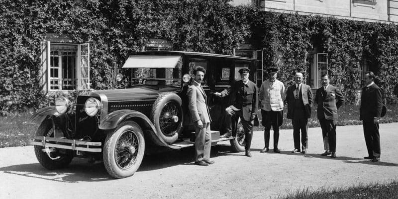 Škoda Hispano-Suiza vozila prezidenta Masaryka.