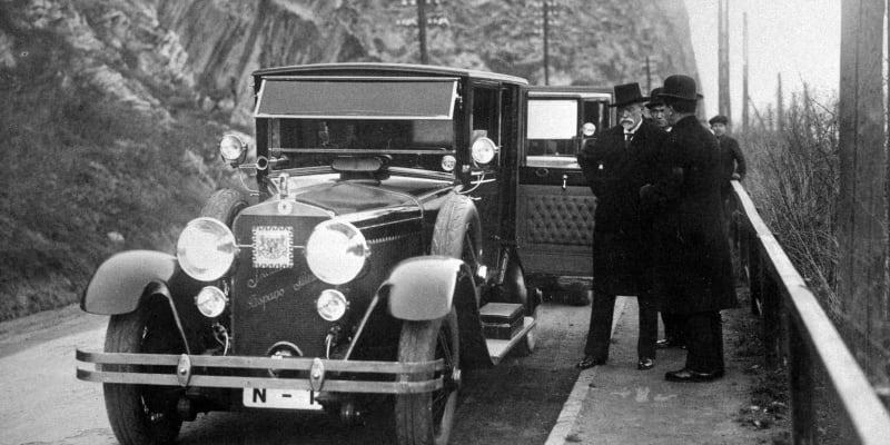 Šlo o první auto s logem Škoda.