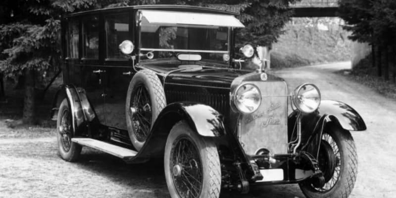 Před 95 lety se začal vyrábět automobil Škoda Hispano-Suiza.