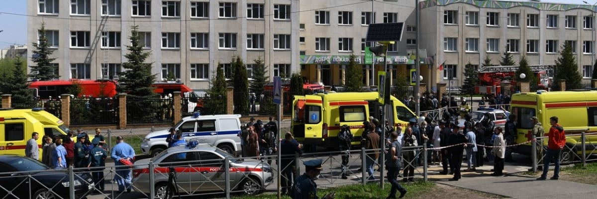 Střelba ve škole v Kazani: Ozbrojenci zastřelili nejméně osm dětí a učitele