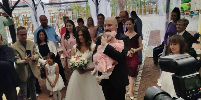 Svatba Bohuše Matuše a Lucinky