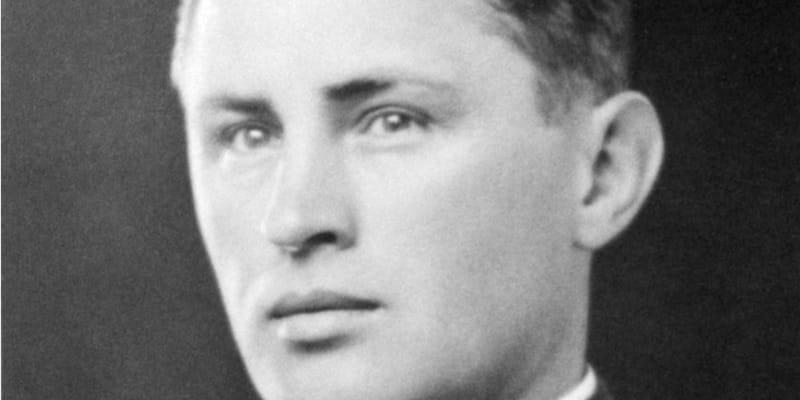 Josef Mašín na snímku z roku 1938