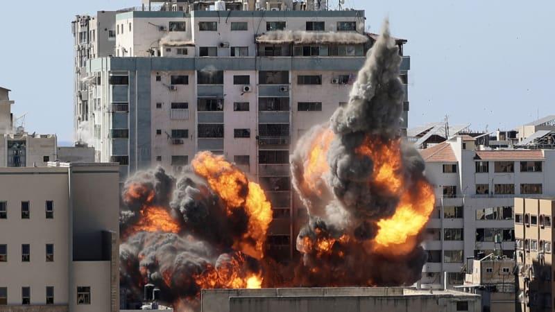 Agentura AP je šokovaná náletem v Gaze: Sotva jsme stačili uprchnout, spílá Izraeli