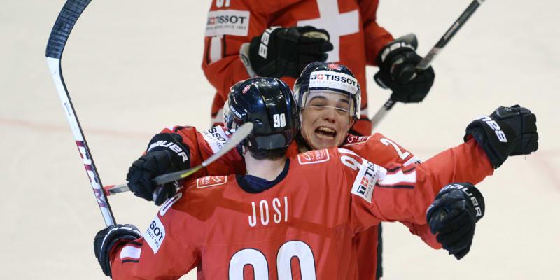 Švýcaři se radují z postupu do semifinále přes český tým.