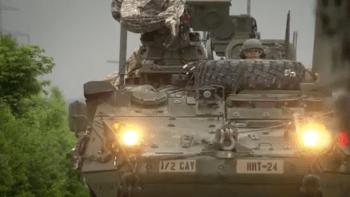 Konvoj amerických vojáků opět míří přes Česko. Vracejí se ze cvičení NATO v Maďarsku