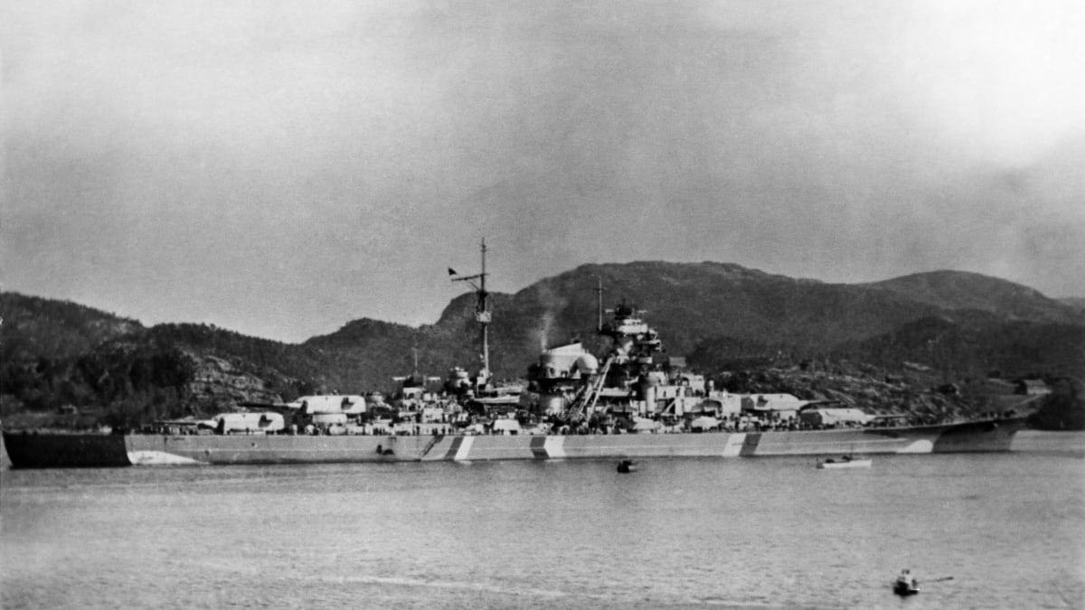 Německá válečná loď Bismarck