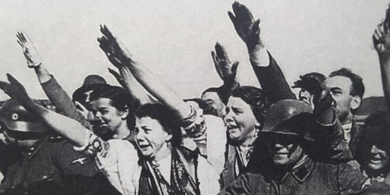 Příznivci nacistického režimu v Sudetech