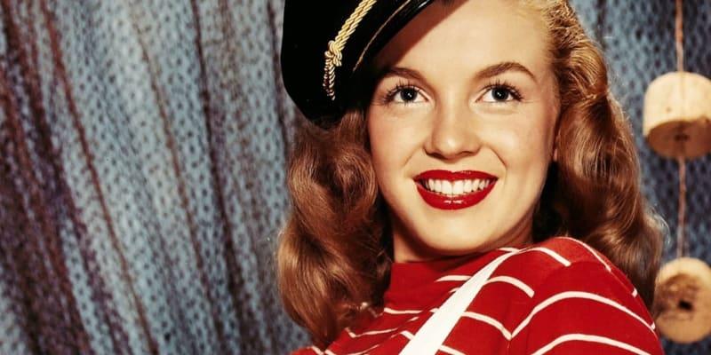 Marilyn začínala jako modelka.