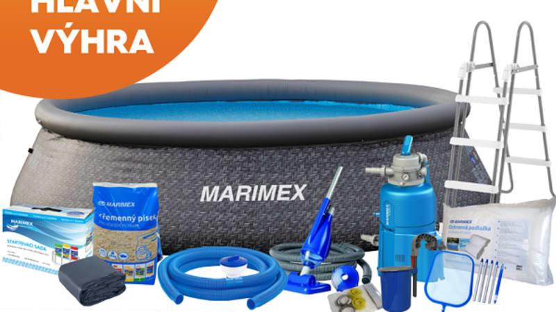 Hlavní výhra: Bazén Tampa Marimex