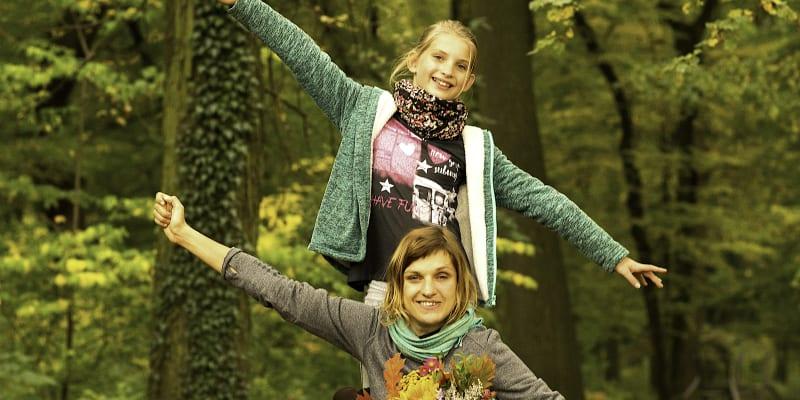 Michaela Krunclová se svou patnáctiletou dcerou Natálií