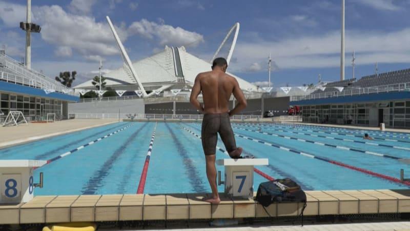 Beznohý uprchlík se dobelhal do Řecka. Teď bude bojovat o medaili na paralympiádě