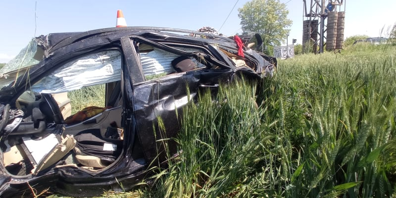 Nehoda na Královéhradecku